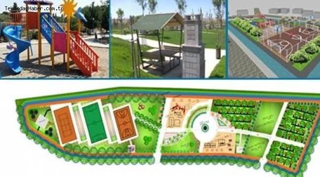 Hayrabolu Belediyesinden Uğur Mumcu Kent Parkı