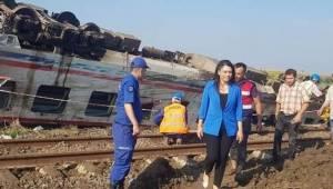 Candan Yüceer Tren Kazasının Takipçisi