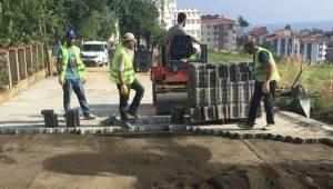 Süleymanpaşa Belediyesi Merkezi Güzelleştiriyor