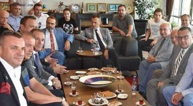 Tekirdağ Beşiktaşlılar Derneği Açıldı