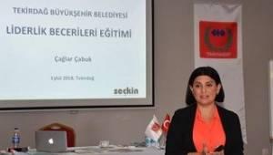 Tekirdağ'da Liderlik Becerileri Eğitimi Yapıldı