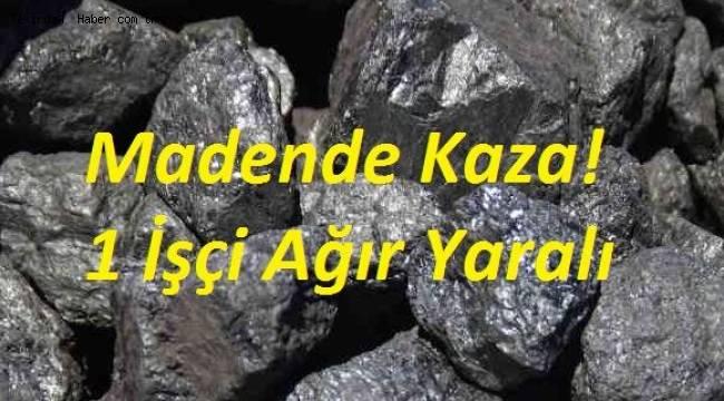 Tekirdağ'da Maden Kazasında 1 İşçi Ağır Yaralandı