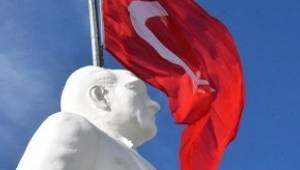 Süleymanpaşa'da Atatürk Anıtı Açılışı Yapıldı