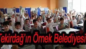 Tekirdağ'ın Örnek Belediyesi Çevreci Çocuklar Yetiştiriyor