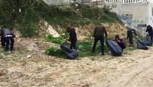 Ahbaplar Doğa Yaşasın Diye Çöpleri Topladı   Son Dakika Tekirdağ Haber