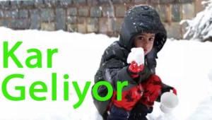 Meteoroloji Tekirdağ'ı Kar Yağışına Karşı Uyardı | Son Dakika Tekirdağ Haber