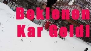 Tekirdağ'da Kar Yağışı Başladı! Karı Gören Vatandaş Sevindi | Son Dakika Tekirdağ Haber