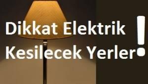 Tekirdağ Dikkat Pazar Günü Elektrik Kesilecek Yerler Burada | Son Dakika Tekirdağ Haber