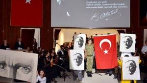 Tekirdağ Ebedi Önder Mustafa Kemal Atatürk'ü Anıldı | Son Dakika Tekirdağ Haber