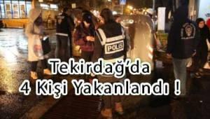 Emniyet Tekirdağ'da Aranan 4 Kişiyi Yakalandı | Son Dakika Tekirdağ Haber