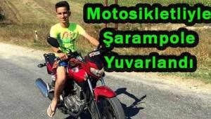 Şarampole Devrilen Motosikletli Genç Sürücüsü Öldü | Son Dakika Tekirdağ Haber