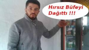 Tekirdağ'da Hırsız Büfeyi Perişan Etti | Son Dakika Tekirdağ Haber