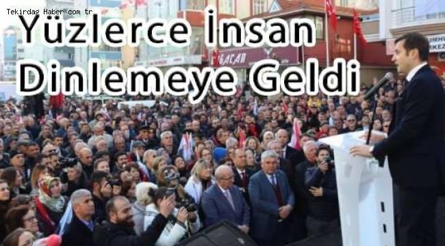 Vahap Akay'dan Gövde Gösterisi | Son Dakika Tekirdağ Haber