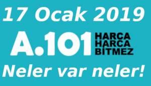 A101 Market 17 Ocak 2019 Aktüel Ürünler Kataloğu Kampanyası | Son Dakika Tekirdağ Haberleri