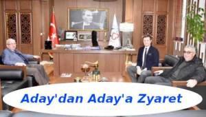 Aday Albayrak'tan Aday Akay'a Belediye'de Ziyaret | Tekirdağ Haber Gazetesi