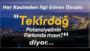 Ak Parti Tekirdağ'ı Kuşatıyor