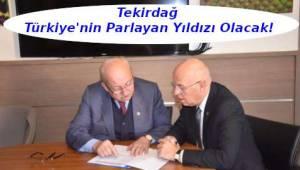Başkan Albayrak'tan Başkan Eşkinat'a Ziyaret | Tekirdağ Haberi