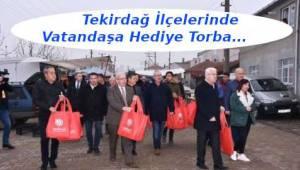 Bez Torba Dağıtan Başkan Albayrak Tekirdağ İlçelerinde Vatandaşları Dinledi