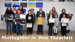 Mutlugiller'in Yeni Yazarlarına Ödüllerini Aldı - Tekirdağ Haber