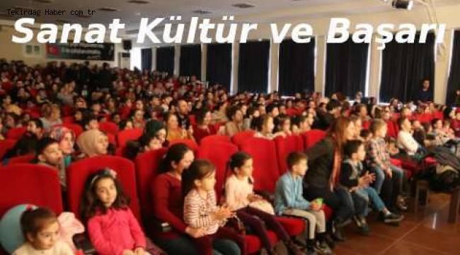 Tekirdağ'da Çocuk Oyunları Tiyatro Festivali Neşeli Anlar Yaşattı - Tekirdağ Haberler