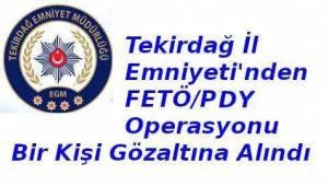 Tekirdağ'da FETÖ/PDY Operasyonu Düzenlendi | Son Dakika Tekirdağ Haber