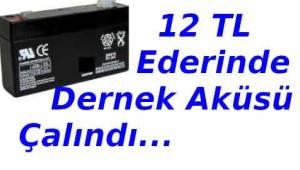 Tekirdağ'da Şok Hırsızlık! Çerkezköy'de 12 Bin Liralık Akü Çalındı | Son Dakika Tekirdağ Haberler