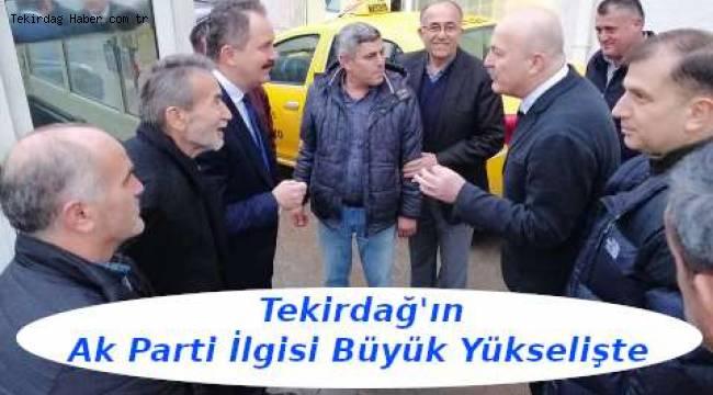 Tekirdağ'ın Ak Parti İlgisi Büyük Yükselişte | Tekirdağ Son Dakika Haber
