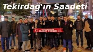 Tekirdağ Saadet Partisine Ankara Çıkartması - Son Dakika Tekirdağ Haber Gazetesi