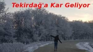 Yoğun Kar yağışı Yolda! İşte Gün Gün Tekirdağ Kar Yağışı ve Hava Durumu | Son Dakika Tekirdağ Haber