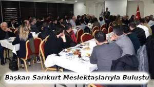Çorlu Başkanı Sarıkurt Meslektaşlarıyla Bir Araya Geldi - Son Dakika Tekirdağ Haber