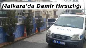 Depodan Demir Çalan Hırsızlar Sonunda Yakalandı - Tekirdağ Haberler