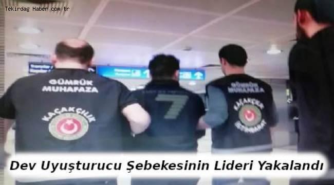Dev Uyuşturucu Şebekesinin Lideri Yakalandı - Tekirdağ Haber