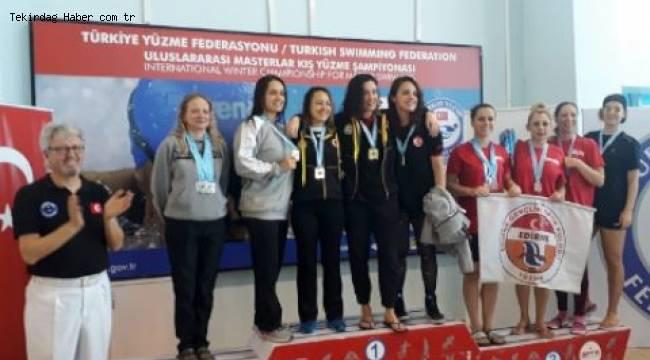 Edirne 17 Madalya Aldı! Gençlik Spor Yüzme Kulübü Sporcularının Büyük Başarısı - Tekirdağ Haber