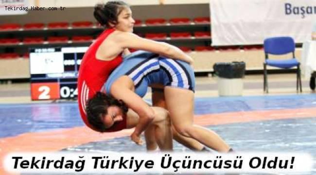 Güreşçi Türkiye Üçüncüsü Oldu - Tekirdağ Haber Gazetesi