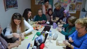 Pazar Poşetleri Tarih Oluyor! Tekirdağlı Kadınlar Poşetle Mücadele Etmek İçin File Kursunda - Tekirdağ Haber