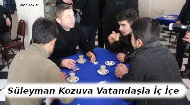 Süleyman Kozuva Kızılpınar'da Çok Sıcak Karşılandı - Tekirdağ Haber