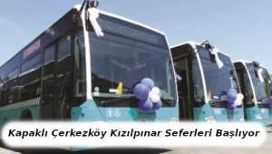 TEK-PARK Kapaklı Çerkezköy ve Kızılpınar Hattı İçin Servislere Başlıyor | TEKİRDAĞ HABER