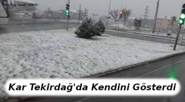 Tekirdağ'a Kar Yağıyor! İşte Şubat 2019 Tekirdağ Hava Durumu ve Kar Yağışı Tahminleri - Tekirdağ Haber