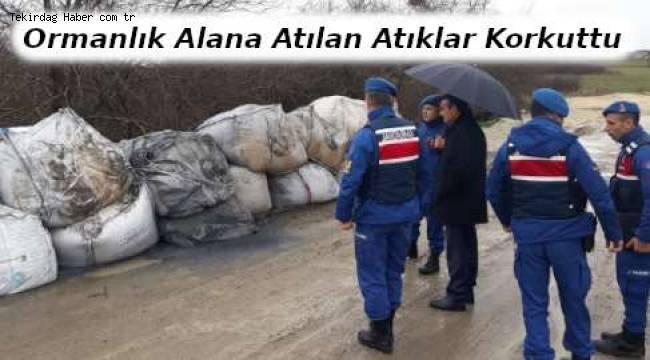 Tekirdağ Çerkezköy'de Atık Alarmı! Kaymakam Bölgede İnceleme Yaptı | TEKİRDAĞ HABER