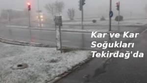 Tekirdağ'da Kar Yağışı Görüldü! Tekirdağ İçin 2019 Şubat Ayı Hava Durumu | TEKİRDAĞ HABER