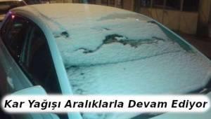 Tekirdağ'da Kar Yağışı Yeniden Başladı! Tekirdağ'da Kar Nerelere Yağacak? | TEKİRDAĞ HABER