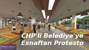 Tekirdağ'da Pazarcılar CHP'li Belediyeyi Protesto Ettiler - Tekirdağ Haber
