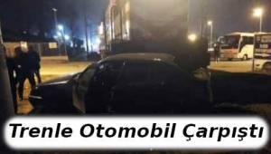Tekirdağ'da Trenle Otomobil Çarpıştı - Son Dakika Tekirdağ Haber