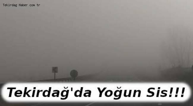Tekirdağ'da Yoğun Sis Ulaşımı Ciddi Anlamda Etkiledi | TEKİRDAĞ HABER