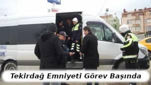 Tekirdağ'da Yolcu Otobüslerine Yönelik Denetimler Devam Ediyor | TEKİRDAĞ HABER