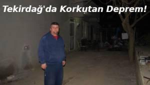 Tekirdağ Depremi Büyük Paniğe Sebep Oldu! Tekirdağ'da Vatandaş Sokağa Çıktı! | TEKİRDAĞ HABER