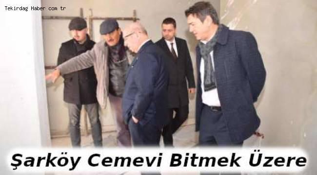 Tekirdağ Şarköy Cemevi Bitmek Üzere - Tekirdağ Haber