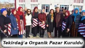 Tekirdağ Süleymanpaşa Pazarına Hanımeli Değdi - Tekirdağ Haber