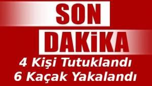 Göçmen Kaçakçılarına Operasyon Düzenlendi! Tekirdağ'da 4 Kişi Tutuklandı