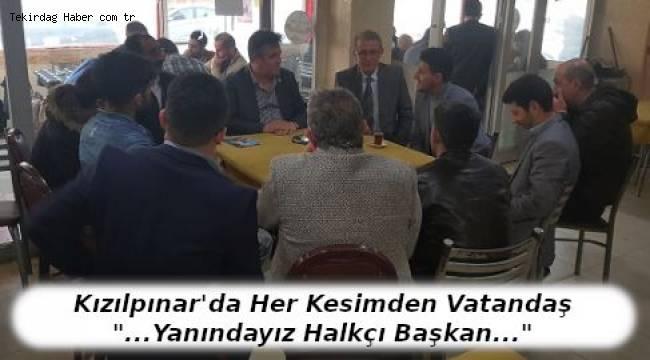 Halkçı Başkan Metin Dönmez'e Vatandaştan Büyük İlgi!